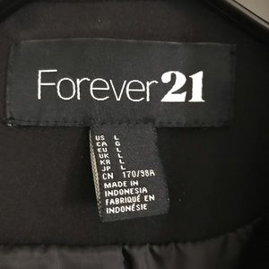 Forever 21 Jackets & Coats - NEW Forever 21 Black Blazer